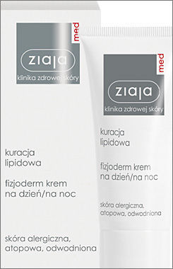 Ziaja Med - Treatment of Lipids 20+ - Fizjoderm CREAM DAY / NIGHT for atopic, allergic and drained skin 50ml 5901887016847