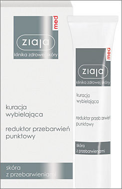 Ziaja Med - Whitening Treatment - Reducing stain point 30ml 5901887020554