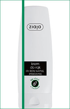 Ziaja - Natural Avocado Oil - Regenerating HAND cream for dry, cracked skin 80 ml 5901887023333