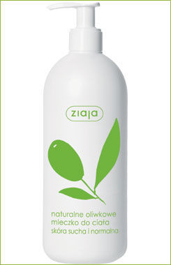Ziaja - Natural Olive - Body LOTION for dry and normal skin 400ml 5901887016434