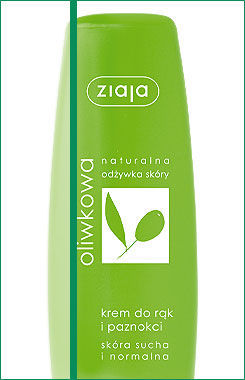 Ziaja - Olive - CREAM for hands and nail for dry and normal skin 80ml 5901887001287