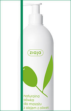 Ziaja - Olive - Natural OLIVE for massage with olive oil for dry and very dry skin 500ml 5901887016441