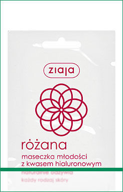 Ziaja - Rose Butter 30+ - Rejuvenating MASK with hyaluronic acid 7 ml 5901887916826