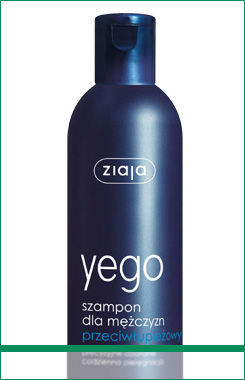Ziaja - Yego - Anti-dandruff SHAMPOO for men 300ml 5901887019749