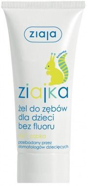 Ziaja - Ziajka - Gel TOOTHPASTE for children without fluoride from 1 tooth (SQUIRREL) 50ml 5901887008392