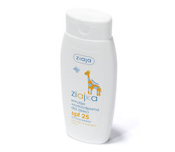 Ziaja - Ziajka - Solar EMULSION waterproof for children 25 150ml 5901887001379